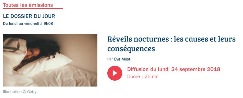 Réveils nocturnes les causes et les conséquences